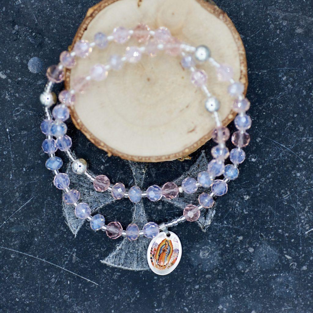Rosenkranz-Armband ALEXA – TOTO- unique devotional pieces-